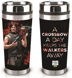 The Walking Dead Daryl Crossbow Travel Mug