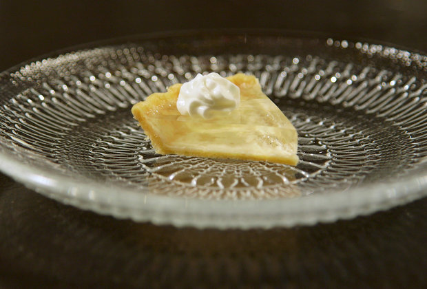 This Transparent Pumpkin Pie Is Clearly Delicious