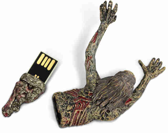 The Walking Dead Bicycle Girl USB Drive