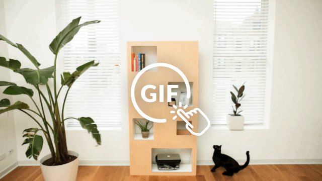 Book case made for cats