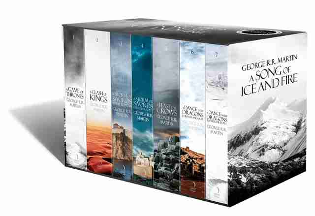 game of thrones books box set