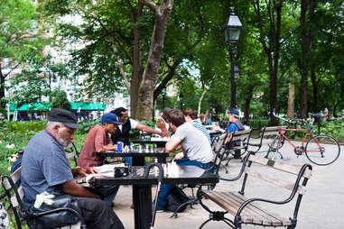 washington sq park chess
