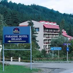 The Best Western Paradise Hotel Dilijan in Armenia