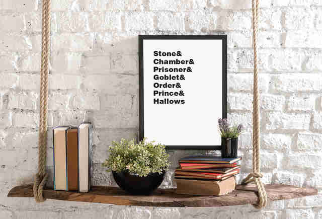 Harry Potter Graphic Print