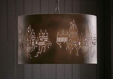 Pottery Barn Harry Potter Lamp