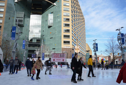 Ice Skating Detroit