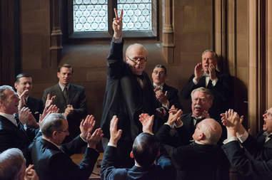 darkest hour winston churchill movie