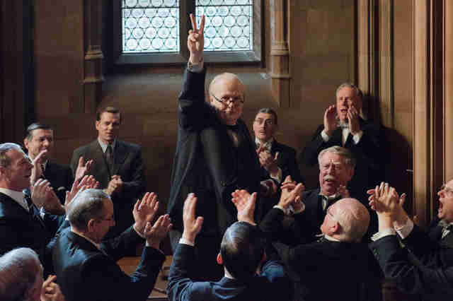 darkest hour winston churchill movie