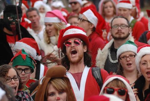 santafest - Houston Christmas Events