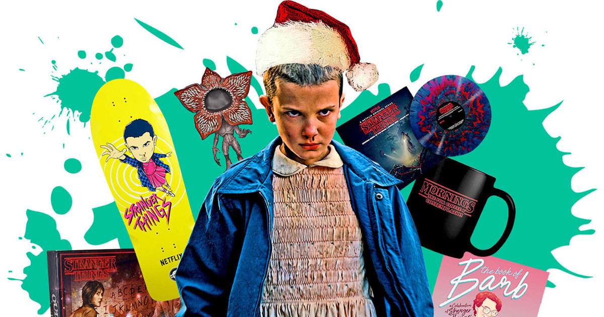 Best Stranger Things Gifts 2017 A Holiday Gift Guide For