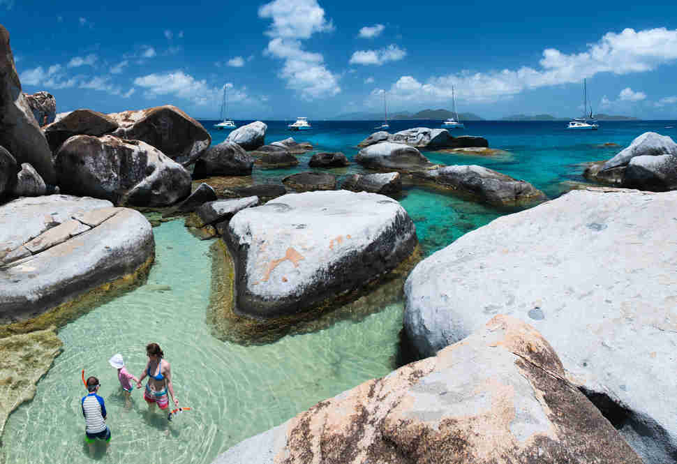 The Baths Virgin Gorda British Islands