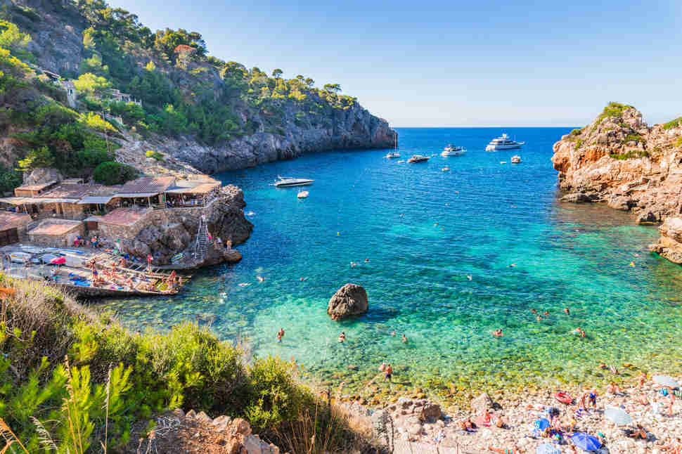Cala Deia, Majorca island