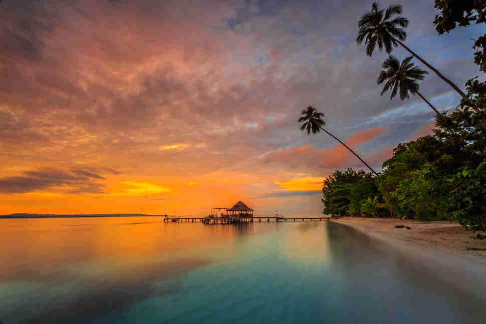 Ora Beach, Indonesia