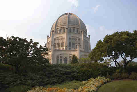 Baha'i House of Worship in Chicago