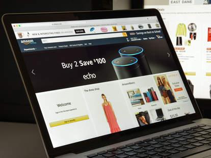 amazon shopping page