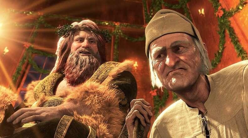 Jim Carey in Disney's Christmas Carol