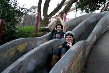 sewer slides