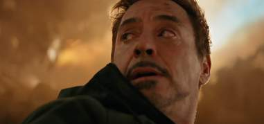tony stark in avengers infinity war