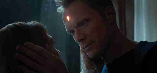 paul bettany as vision in avengers infinity war