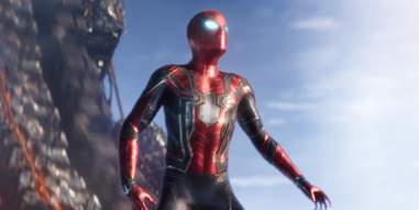 spider-man in avengers 3