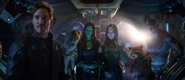 guardians of the galaxy in avengers infinity war