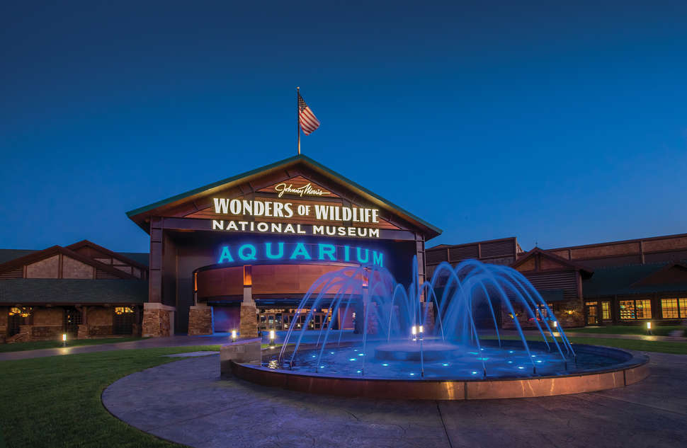 Wonders of Wildlife Museum & Aquarium