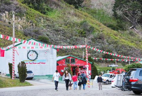 Santa S Tree Farm And Village