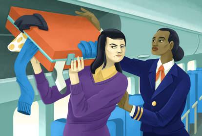 flight attendant packing secrets