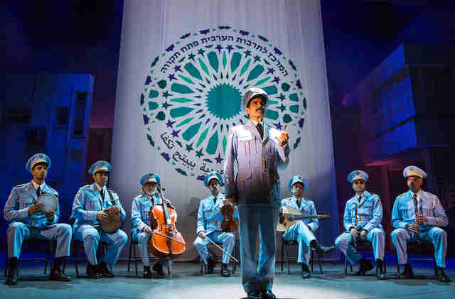 a band's visit musical on broadway