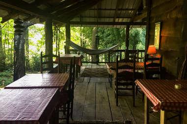 Mountain Light Sanctuary dining area
