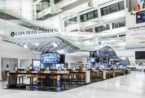 Caps Beer Garden Newark Airport