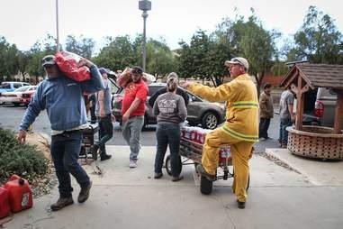california fire animal rescue donations