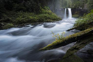 Koosah Falls, Eugene