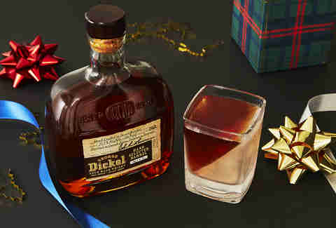 George Dickel Barrel Select Tennessee Whisky Bottle & Whiskey Wedge – Whiskey Gift Guide – Supercall