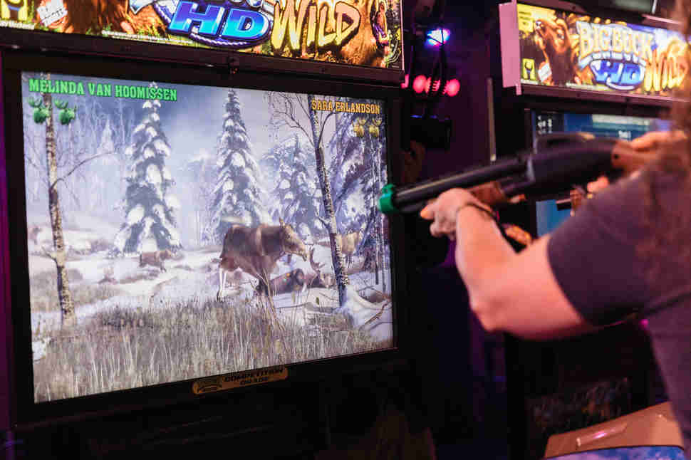 big buck hunter hd wild arcade game