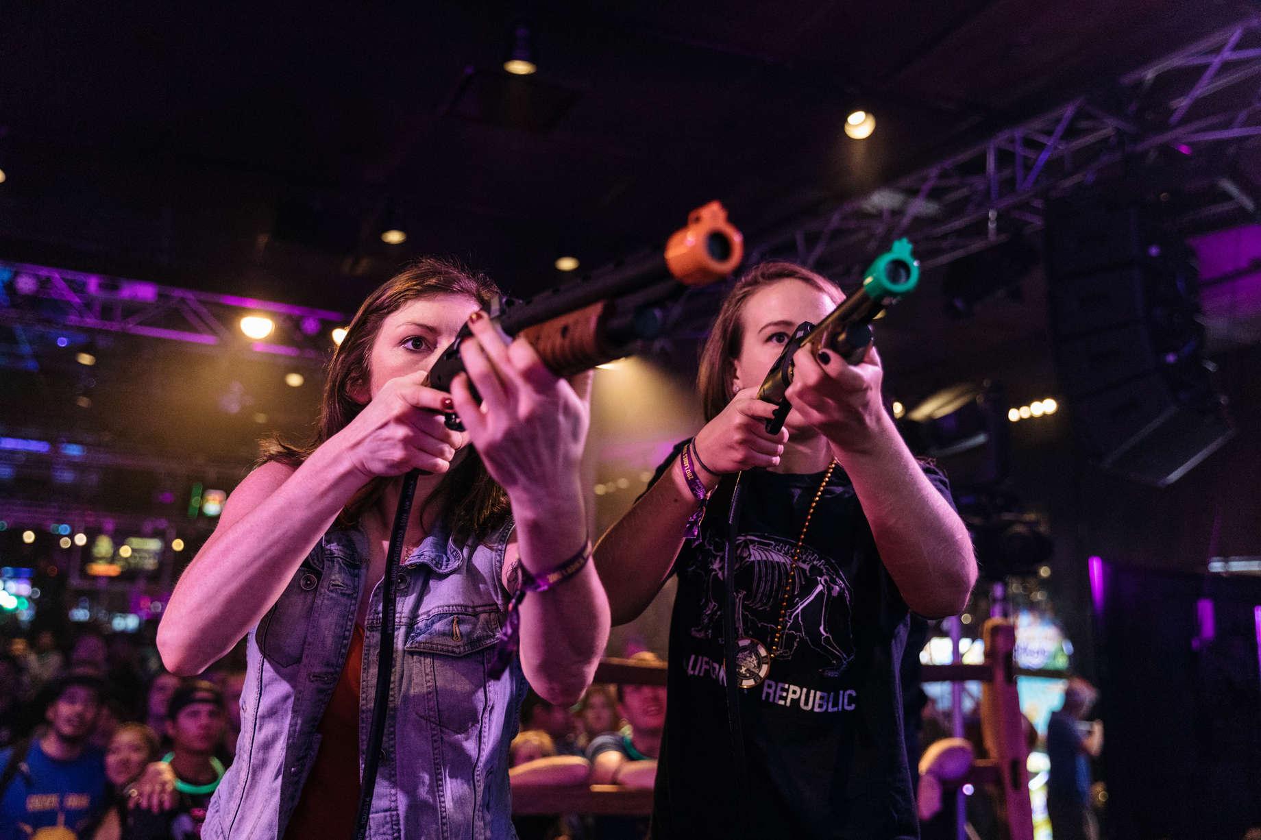 Big Buck Hunter Championship: Video Games & Gun Violence in