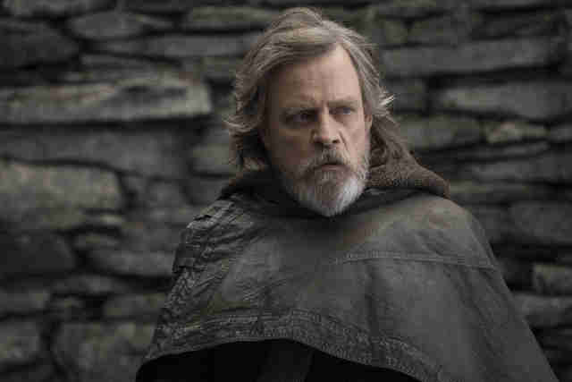 luke skywalker in last jedi