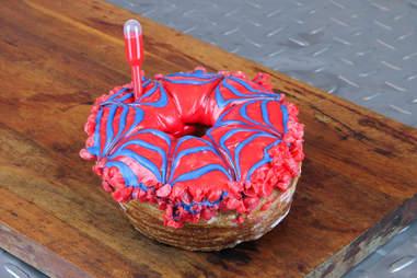Spider Bite Doughnut