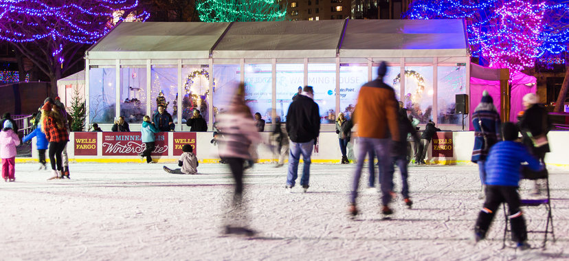 Wells Fargo Winter Skate