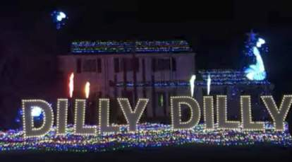 dilly dilly christmas lights