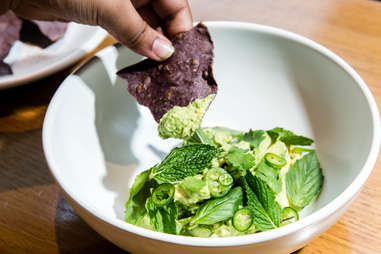 Atla chips and guac by Cole Saladino