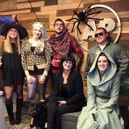 Halloween party at All Phase