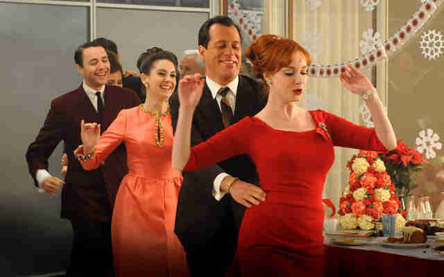 mad men christmas comes once a year