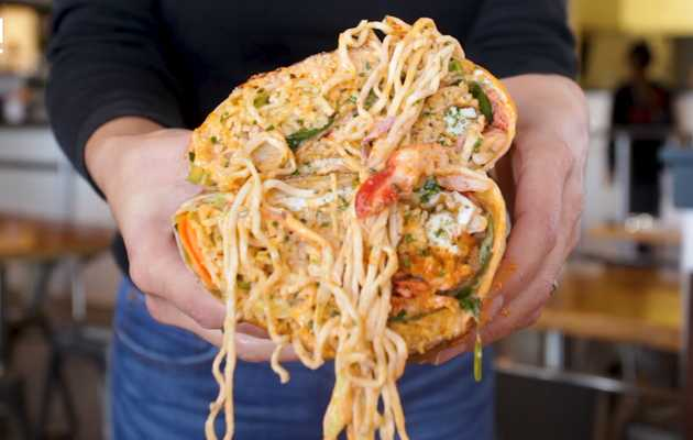 This Is the Lobster Ramen Burrito You Wish You Had in College