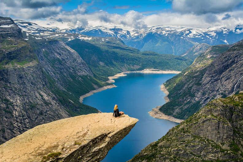 Scandinavian Mountains, Norway, Odda