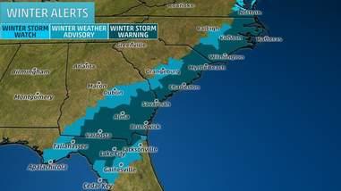 weather snow storm east coast
