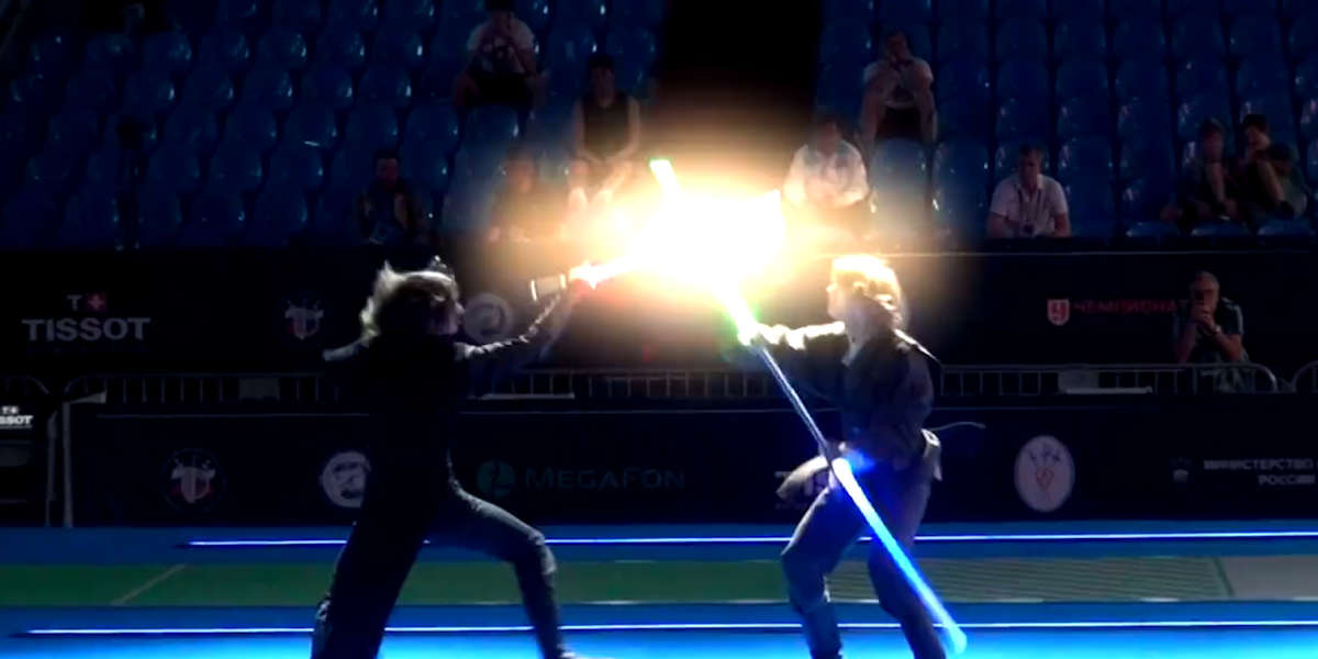 Lightsaber School Teaches You Jedi Technique
