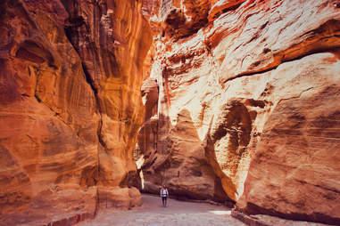 Rock formations in Jordan