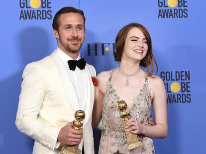 ryan gosling emma stone golden globes