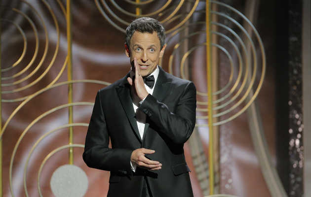Seth Meyers Roasts Hollywood's Toxic Male Problem in Vicious Golden Globes Monologue